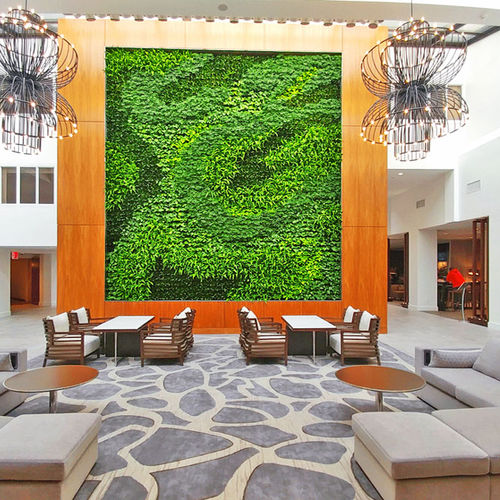Wandbegrünung / lebende Pflanzen - GSky Plant Systems, Inc.