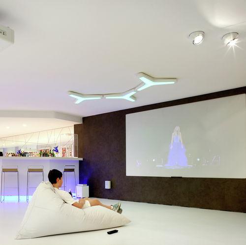 moderne Deckenleuchte / Kunststoff / LED / Kompaktleuchtstoff