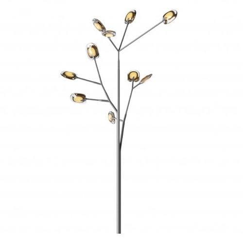 Lampe mit Fußgestell / modern / Edelstahl / Glas 16.10 OLIVE BOCCI
