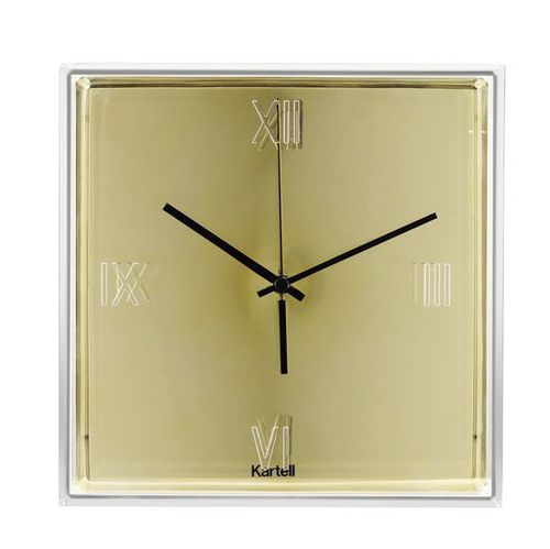 Moderne Uhr / Analog / wandmontiert / ABS TIC&TAC by Eugeni Quitllet Kartell