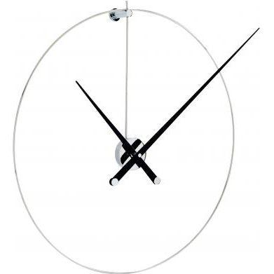 Uhr / originelles Design / Analog / wandmontiert / Nussbaum PIK by José Maria Reina Ligne Roset