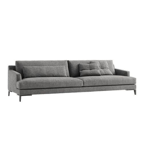 modernes Sofa / Stoff / von Jean-Marie Massaud / modulierbar