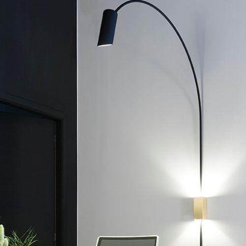 Moderne Wandleuchte / Aluminium / LED / IP20 WALLSTER by Anthony Boelaert  DARK AT NIGHT NV