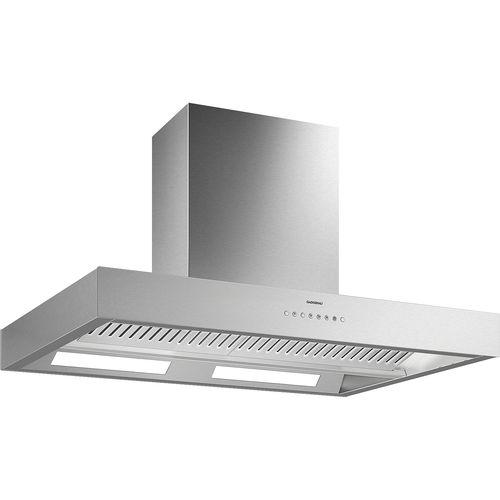 Inseldunstabzug / mit integrierter Beleuchtung