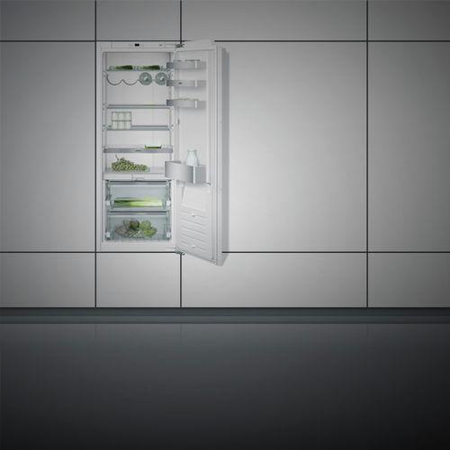 Schrank-Kühlschrank / weiß / Öko / Einbau