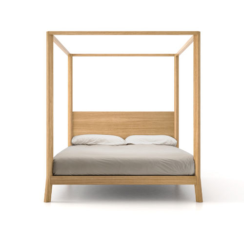 Himmelbett / doppelt / modern / Holz