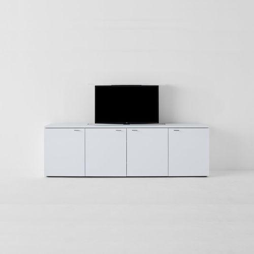 modernes Fernsehmöbel / lowboard / Holz
