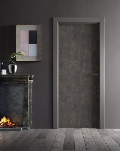Innenbereich-Tür / einflügelig / ABS / Laminat