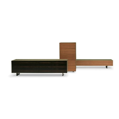 Modernes Sideboard / Leder / von Jean-Marie Massaud / weiß VITRUVIO  POLTRONA FRAU