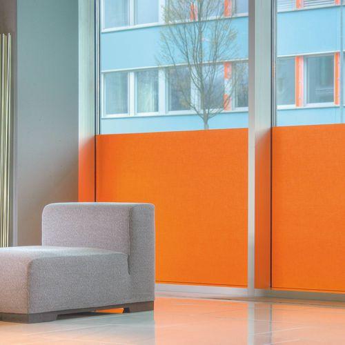 Stoff für Sonnenschutz / uni / Polyester / Trevira CS®