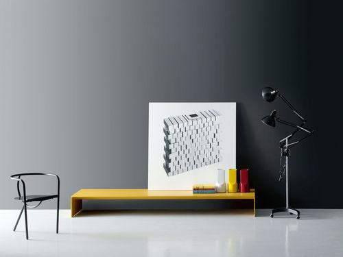 moderne Bank / Metall / aus MDF / von Piero Lissoni