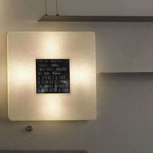moderne Wandleuchte / aus Nebulite® / LED / quadratisch