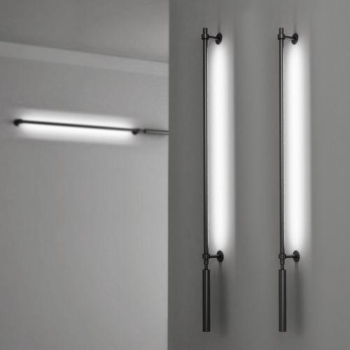 moderne Wandleuchte / Aluminium / linear