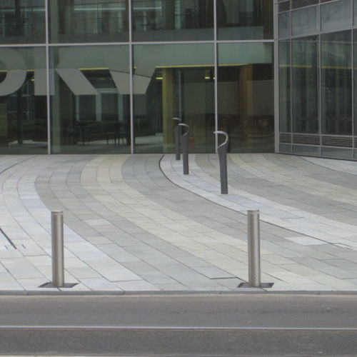 Halteverbot-Sperrpfosten / Sicherheit / Edelstahl / Stahl
