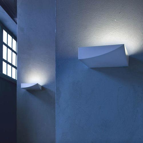 moderne Wandleuchte / Aluminium / Thermoplast / LED