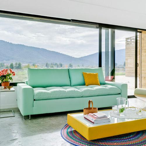 Beau Modernes Sofa / Stoff / 2 Plätze / 3 Plätze