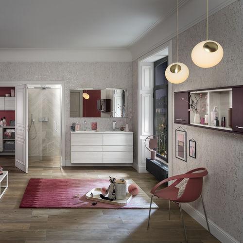Modernes Badezimmer / Keramik / Laminat / kundenspezifisch - UNIQUE ...