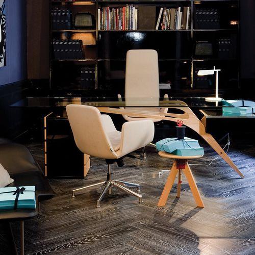 moderner Bürostuhl / mit Rollen / Hochlehner / drehbar