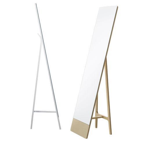 bodenstehender Spiegel / wandmontiert / modern / rechteckig
