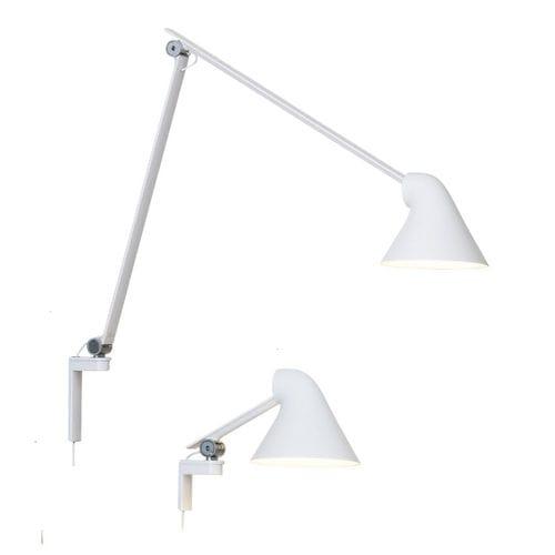 Moderne Wandleuchte / aus Aluminium / LED / rund NJP by Nendo Louis Poulsen