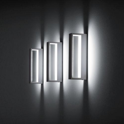 Moderne Wandleuchte / Außen / Aluminium / Glas COOL Simes