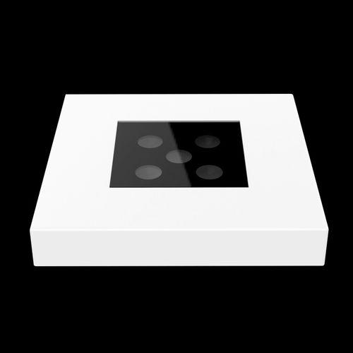 Aufbauleuchte / LED / quadratisch / Metall