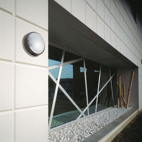 Moderne Wandleuchte / Außen / Glas / Aluminium AIRY / AIRY PLUS by Italo Belussi Lombardo