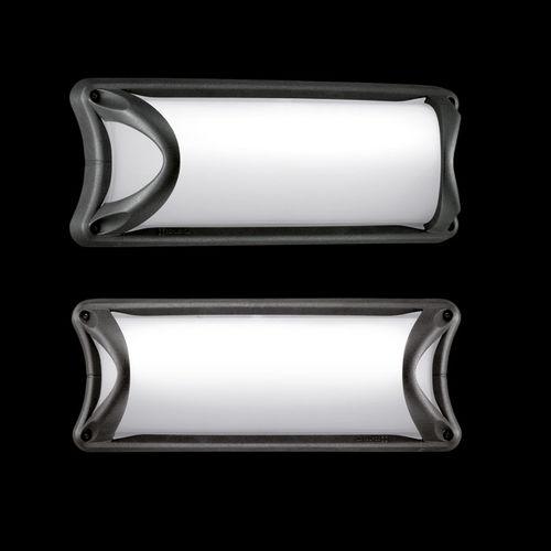 moderne Wandleuchte / Außenbereich / Glas / Aluminium