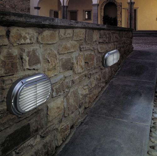 moderne Wandleuchte / Außenbereich / Aluminium / aus Polycarbonat