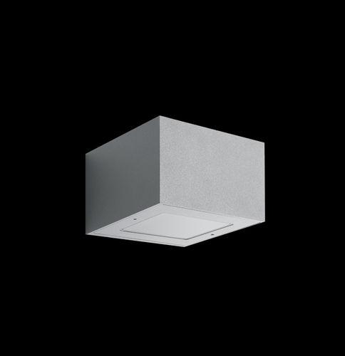 moderne Wandleuchte / Außenbereich / aus Aluminiumguss / aus Polycarbonat