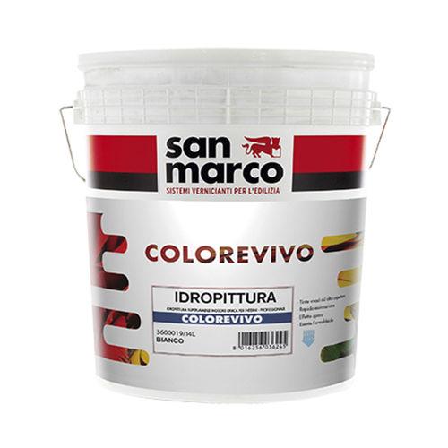 Endbearbeitungsfarbe / für Wände / für den Innenbereich / wasserbasiert