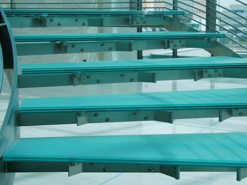 Glasscheibe für Stufen / rutschfest / Float PIXEL FLOORING VITREALSPECCHI SPA