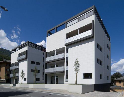 Faserzement-Fassadenverkleidung - PIZ