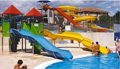 Gerade-Rutsche / für Aquapark WATERSLIDE TECNOPISCINE INTERNATIONAL