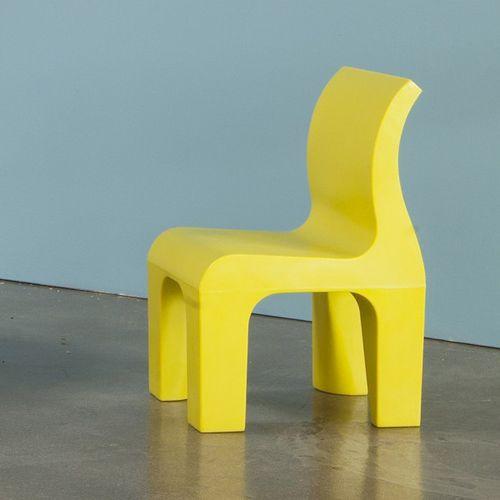moderner Stuhl / für Kinder / Polyethylen mit niedriger Dichte LDPE / Gewerbe