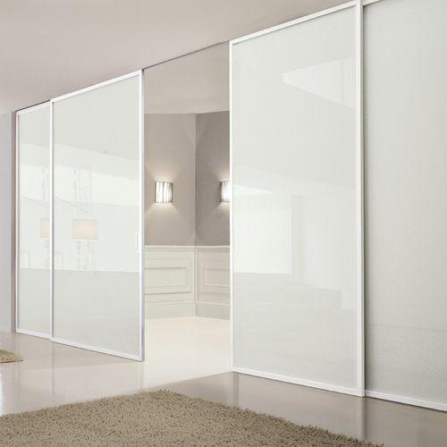 Schiebetrennwand / Glas / für Privatgebrauch