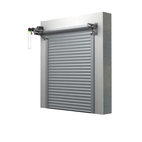 Rolltor für Garage / Aluminium / automatisch / isolierend