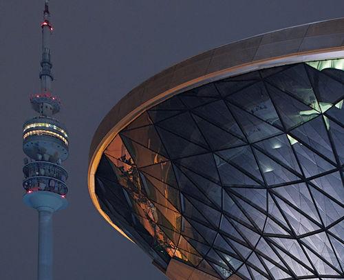 Platten-Vorhangfassade / aus Metall und Glas BMW WELT by COOP HIMMELB(L)AU Josef Gartner