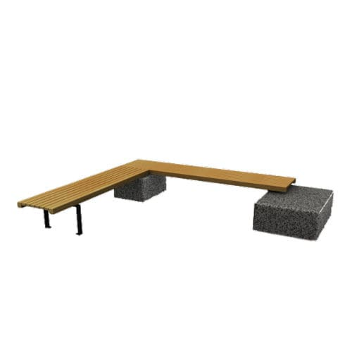 Parkbank / klassisch / Holz