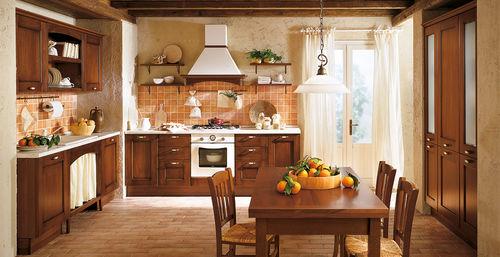 Klassische Küche / Massivholz / Holz / mit Griffen - BORGO ANTICO 02 ...