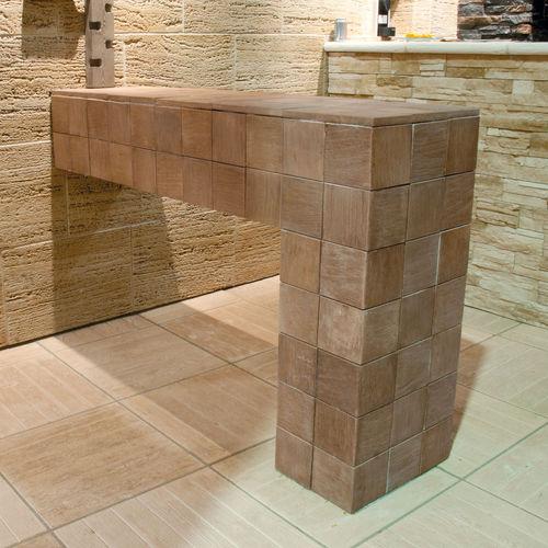 Kunststeinverblender / Innenraum / Außenbereich / Struktur