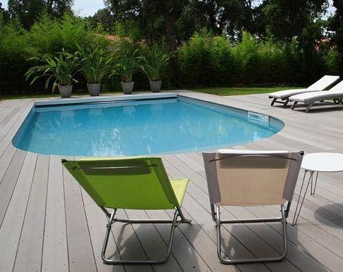 Erdverlegtes Schwimmbecken / Beton / Schalung Polymer / für Außenbereich BIARRITZ PISCINES MAGILINE