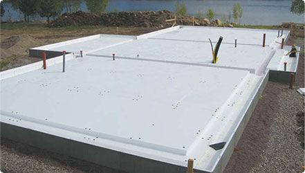 thermische Isolierung / aus Polystyrolschaum / für Fußbodenheizung / steife Platten