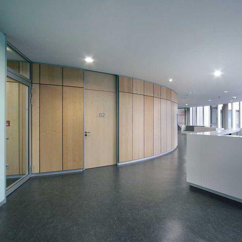 Hochbeständig-Gipsplatte / rechteckig / für Decken / Objektmöbel