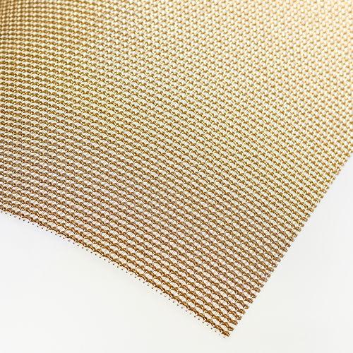 Metallgewebe für Innenausbau / für Sonnenschutz / für Decken / für Fassadenverkleidung