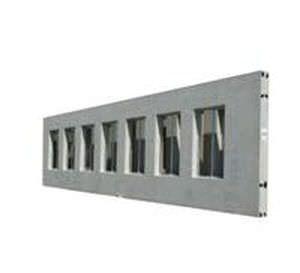 Stahlbeton-Stützmauer / Modulare / Fertig LIGHT High Concrete