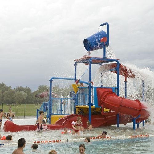 Spielplatzgerät für Aquapark / Edelstahl