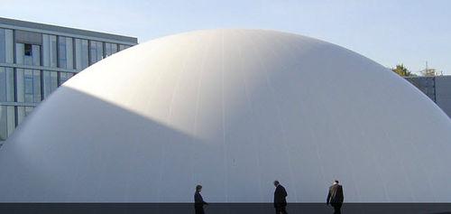Membran-Architektur / Tenara® / für Traglufthallen