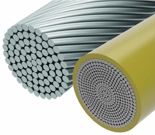 Stahlkabel für Seiltragwerk / offene Spirale / seile ummantelt