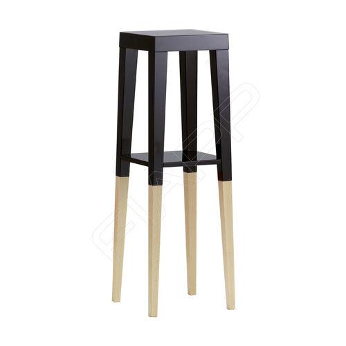 moderner Stehtisch / Holz / rechteckig / quadratisch